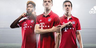 La nueva piel del Bayern Munich. Foto:Vía facebook.com/fcbayern.es