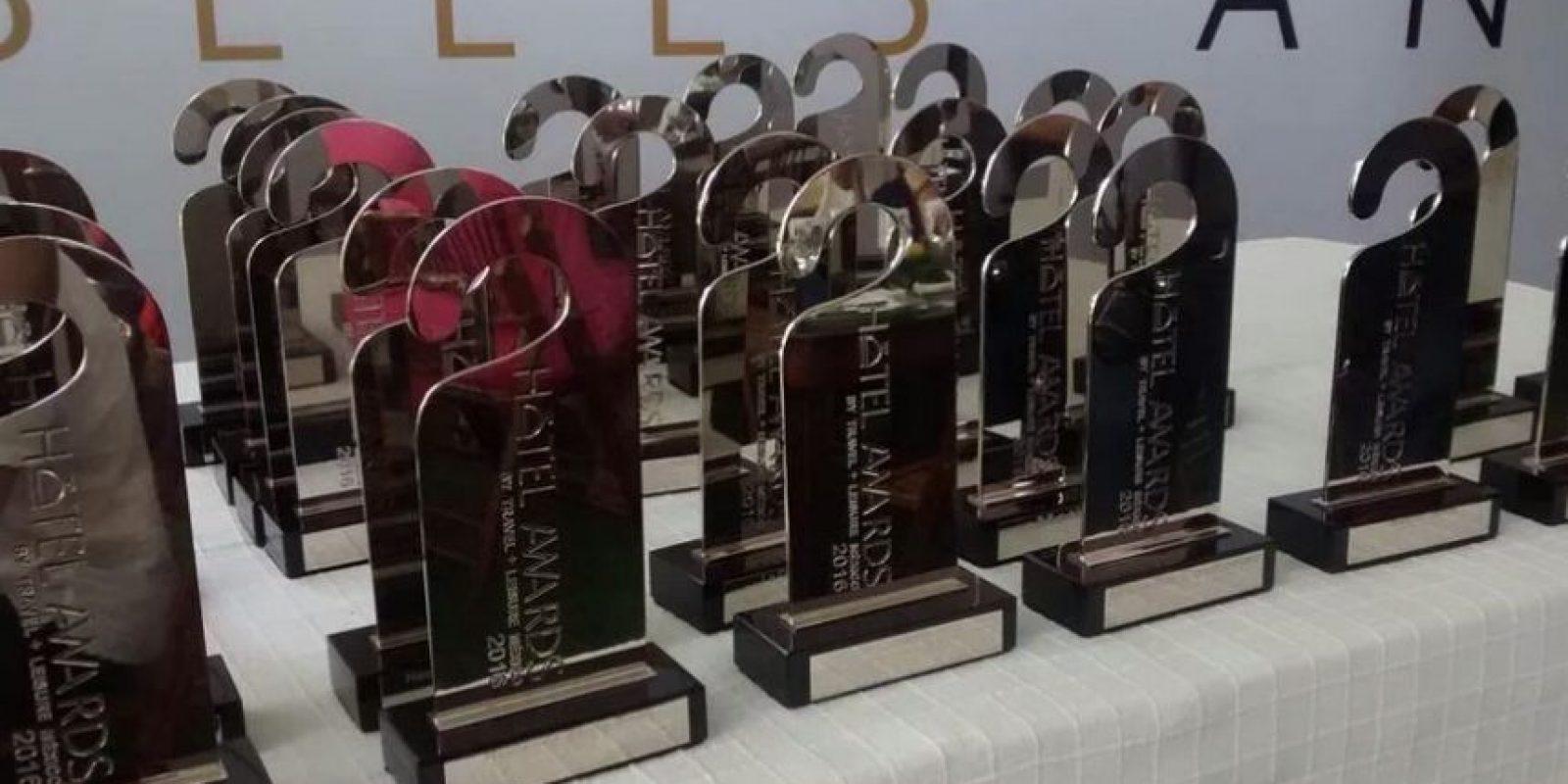 El reconocimiento premia por primera vez los mejores hoteles de México. Foto:Especial