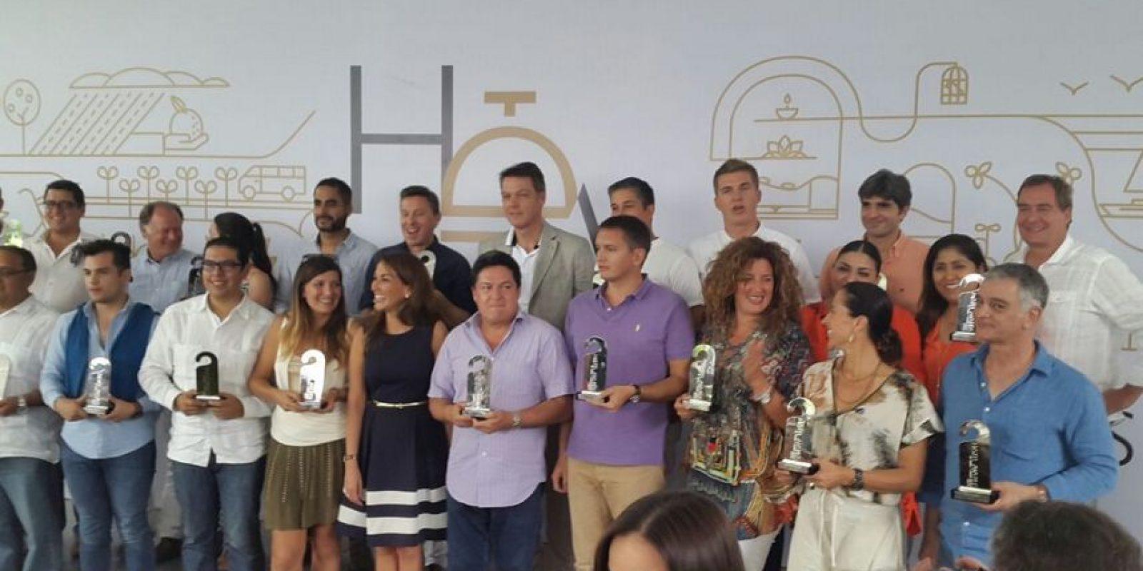17 categorías fueron premiadas Foto:Especial