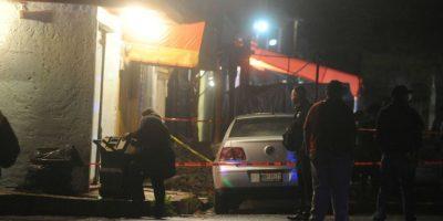 Uno murió al interior del local. Foto:Cuartoscuro