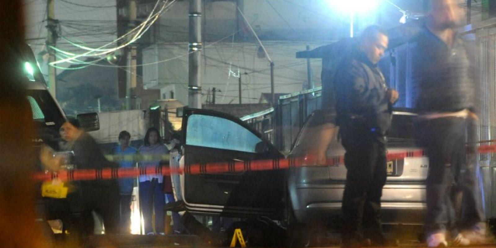 Quienes les dispararon se dieron a la fuga. Foto:Cuartoscuro