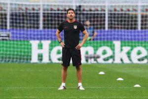 Diego Simeone está al frente del Atlético de Madrid. Foto:Getty Images