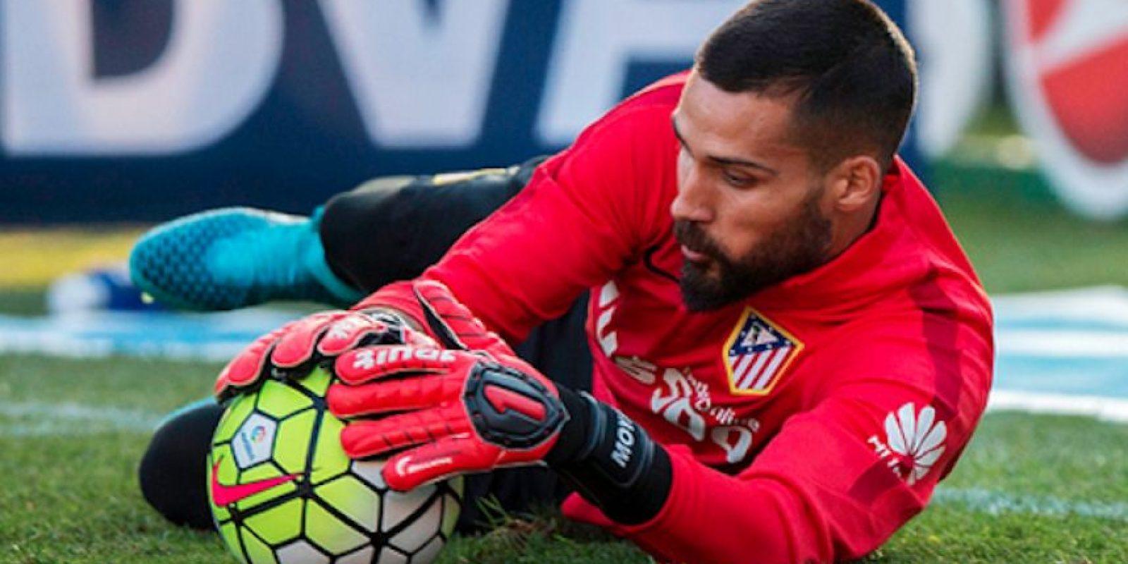 Miguel Ángel Moyá, portero suplente del Atlético de Madrid. Foto:Getty Images