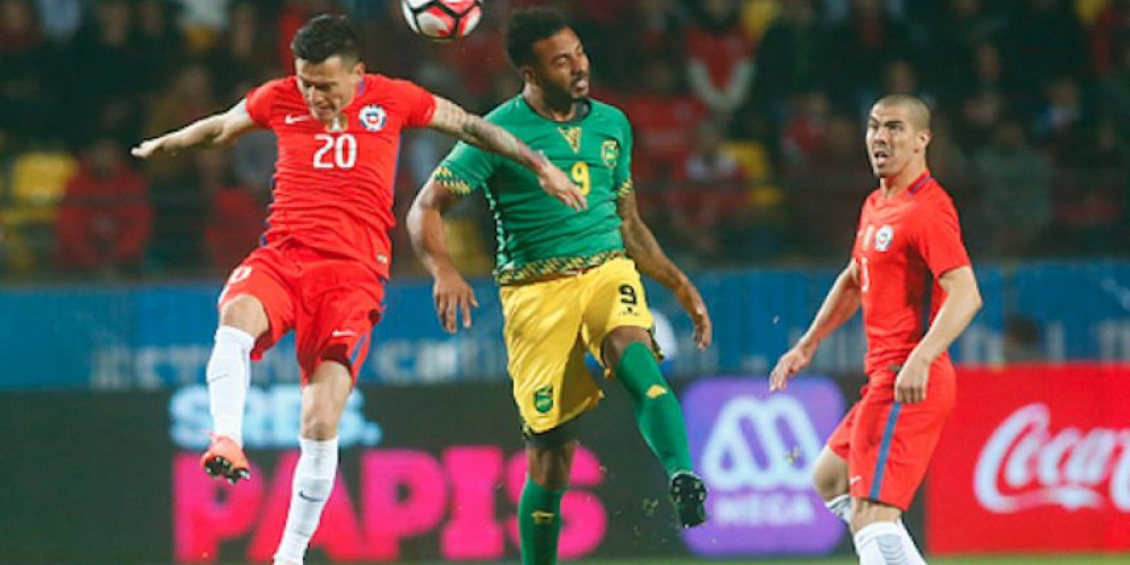 Los actuales campeones del continente no tuvieron contundencia ante los jamaiquinos. Foto:Getty Images