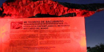 Las pruebas continuan para conocer su composición. Foto:Tomado del Museo Centro de Ciencias de Sinaloa