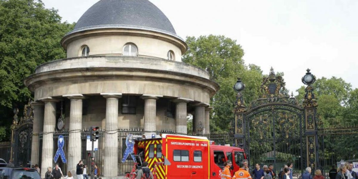 Relámpago electrocuta a 11 en parque de París; ocho son niños