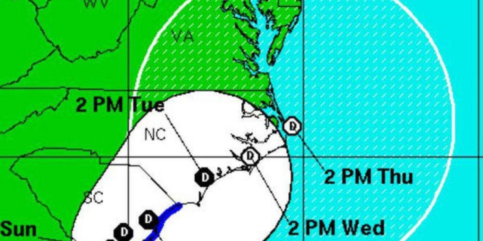 Esta tormenta es el segundo sistema que se forma antes de que comience la temporada de huracanes Foto:@chematierra