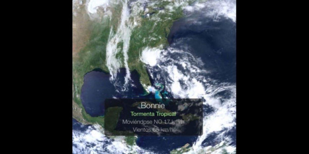 Se forma la tormenta tropical Bonnie en el Océano Atlántico