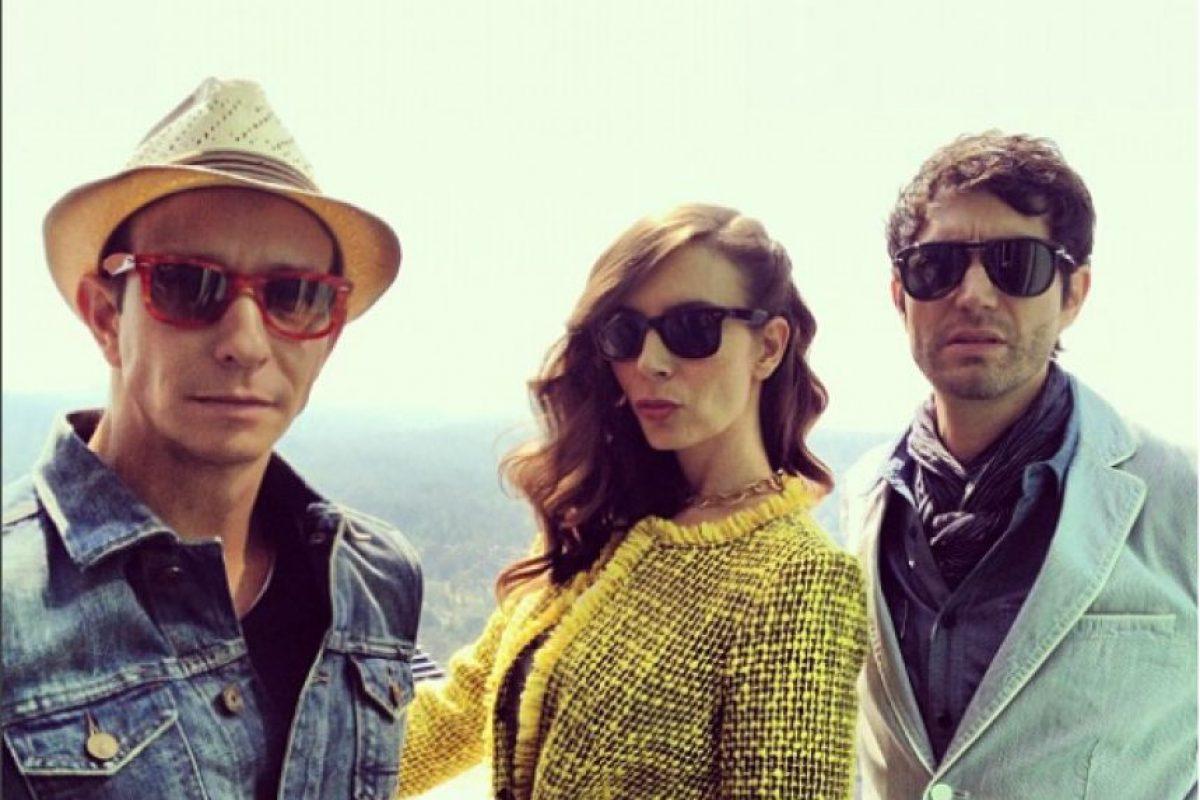 Sasha, Benny y Erick se despiden como trío. Foto:Instagram