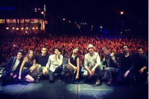 """""""Entre amigos"""" es el resultado de 200 shows en 100 ciudades Foto:Instagram"""