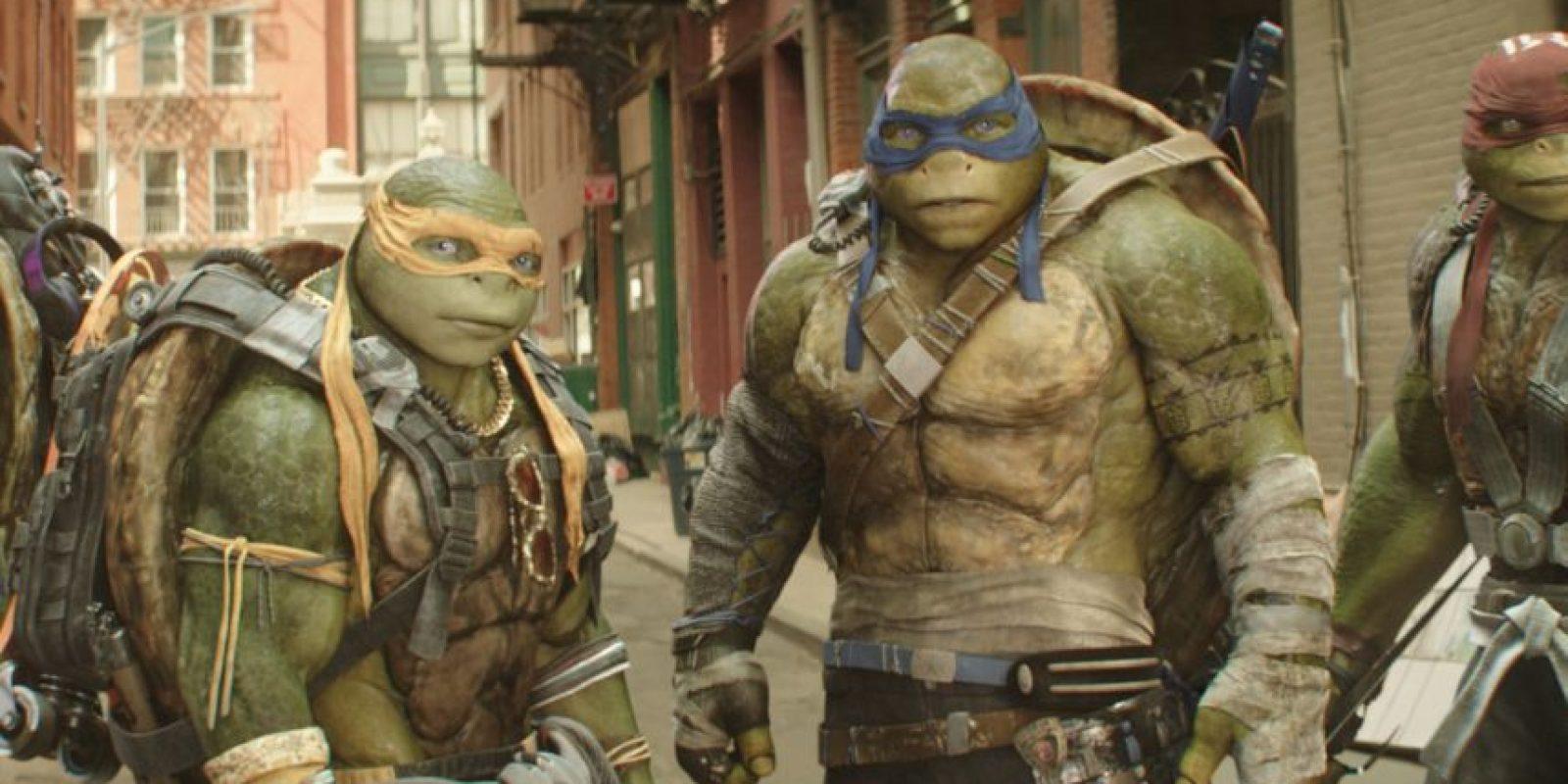 Las Tortugas Ninja 2: fuera de las sombras llegan a los cines de México el 2 de junio Foto:Paramount Pictures