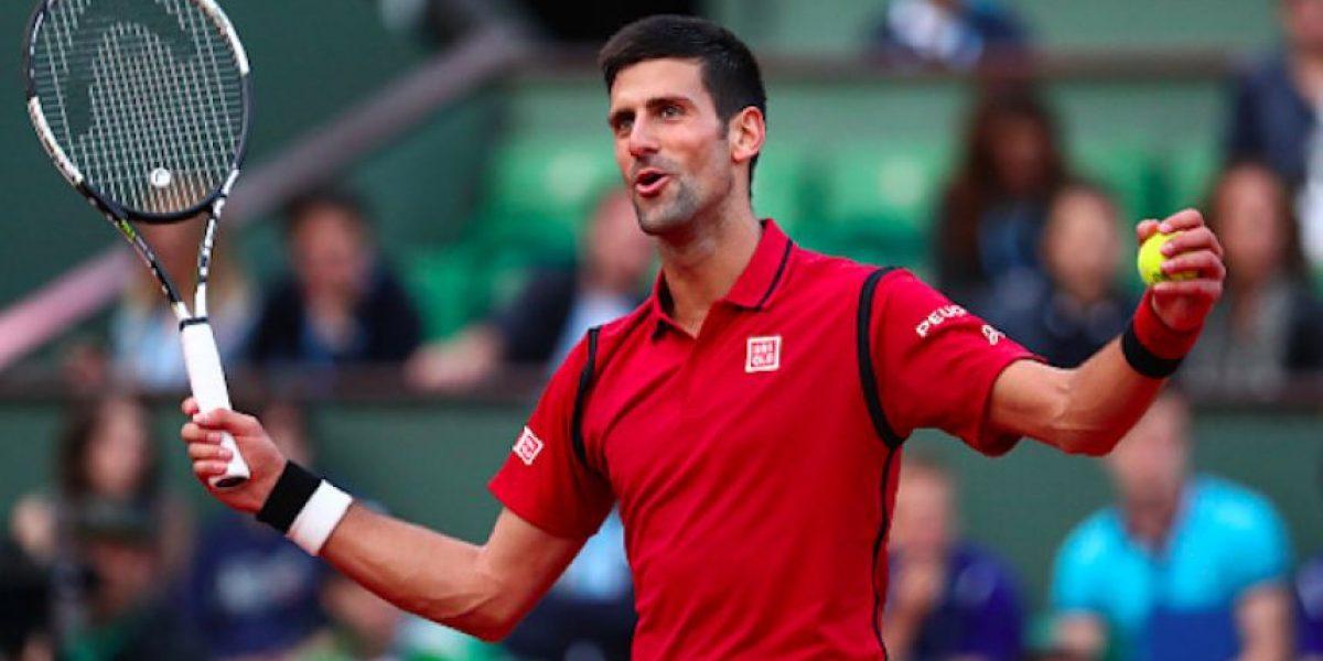 Djokovic, Berdych y Serena avanzan a octavos de Roland Garros
