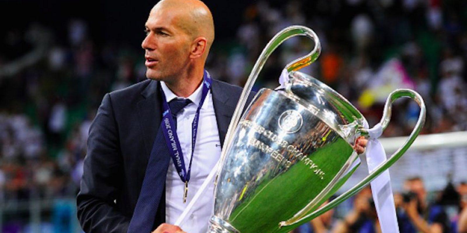 El francés conquistó la UEFA Champions League con menos de 150 días en el cargo. Foto:Getty Images