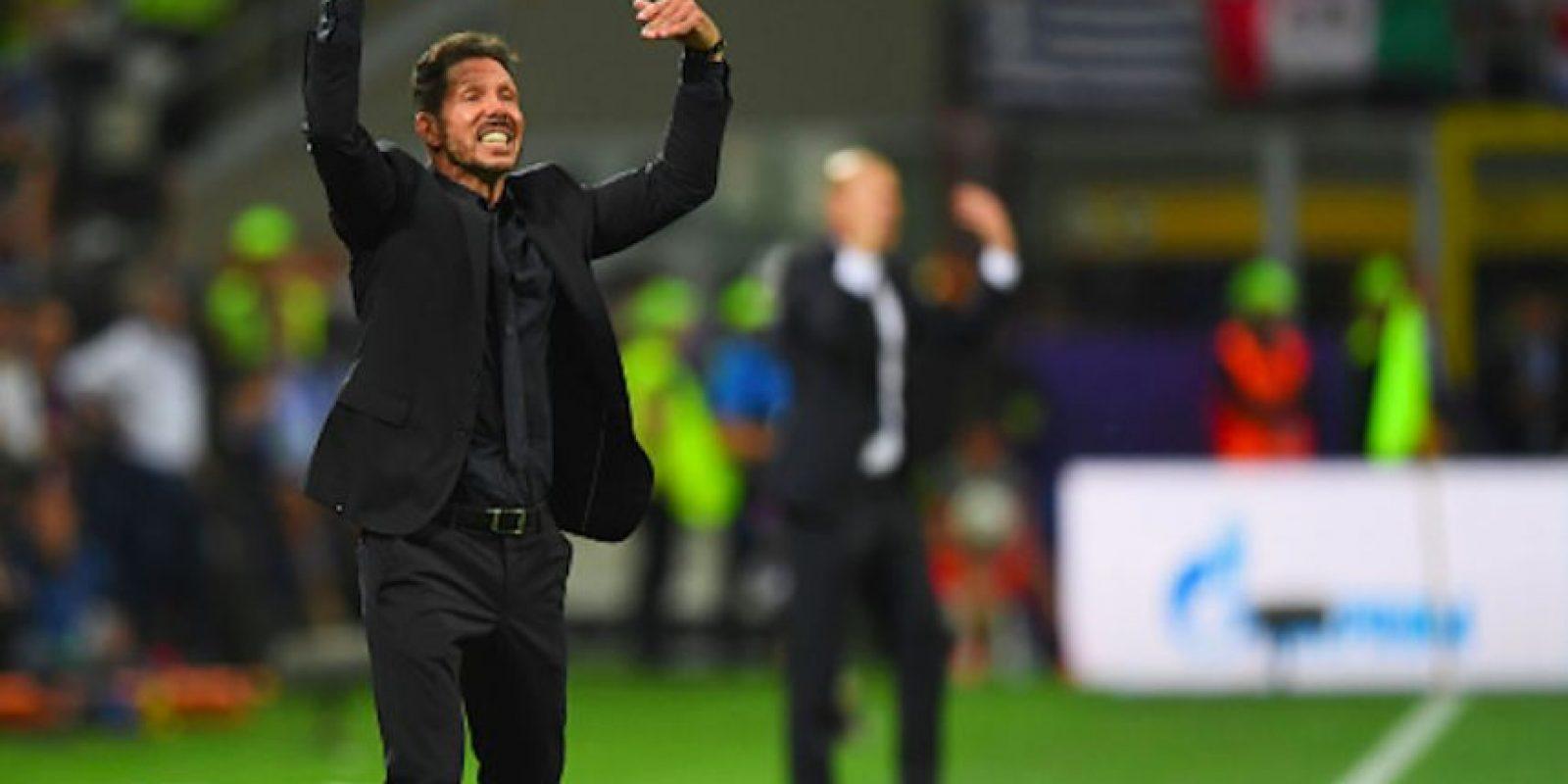 """El """"Cholo"""" Simeone no sabe si continuará en el Atlético de Madrid. Foto:Getty Images"""