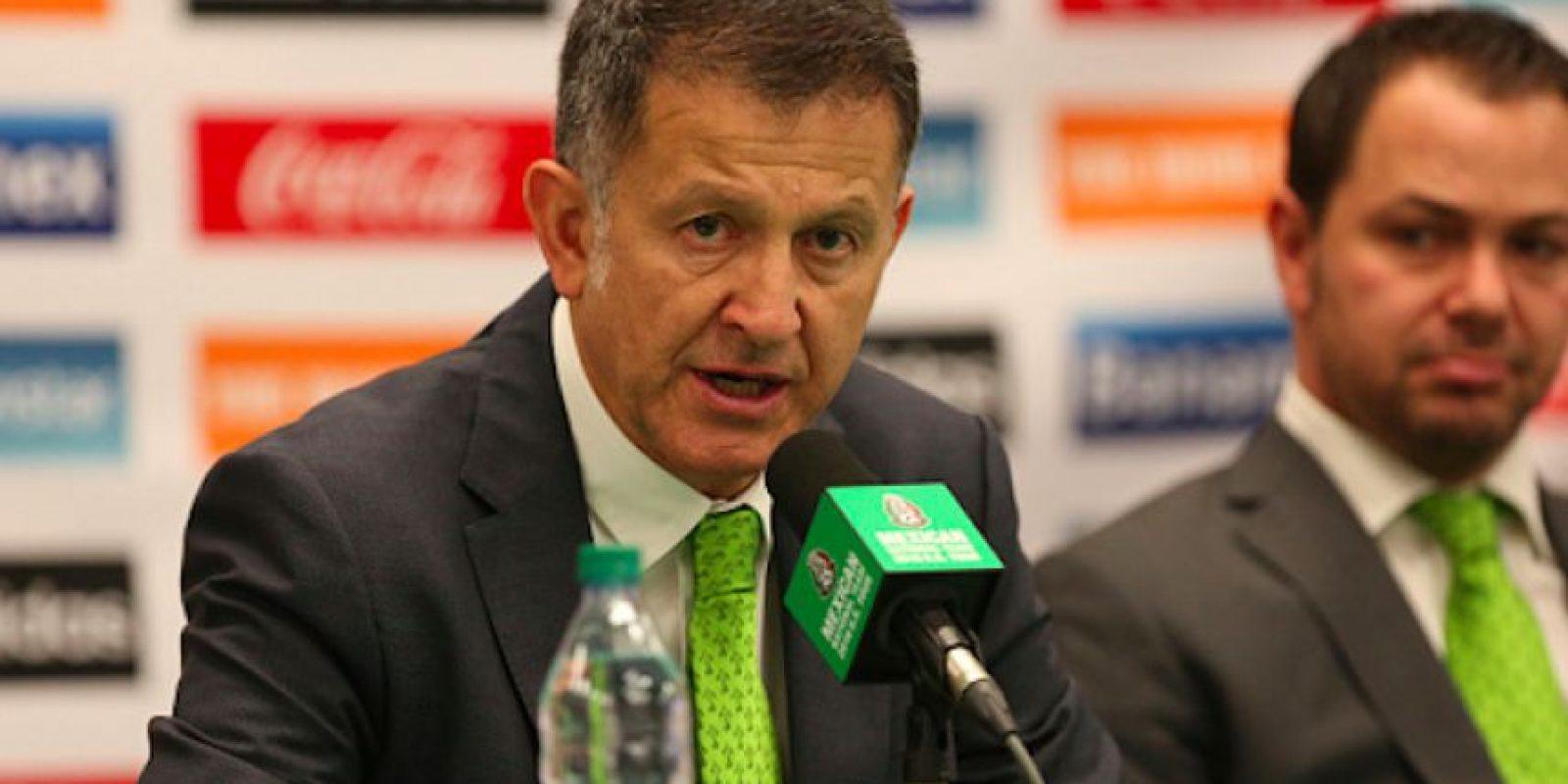 El seleccionador colombiano suma seis victorias en seis juegos como estratega de México. Foto:Getty Images