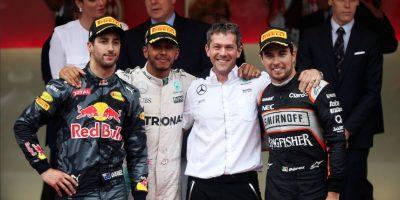 El mexicano tuvo una de sus mejores carreras en el máximo circuito. Foto:Getty Images