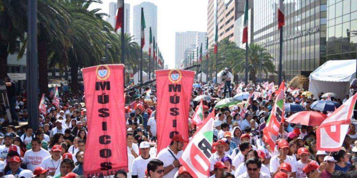 PRI reúne 25 mil personas para su cierre de campaña en la CDMX