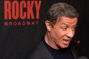 Sylvester Stallone es uno de los actores más importantes dentro del cine de acción de Hollywood. Foto:Getty Images