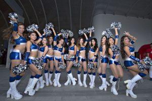 La belleza se hizo presente en la Final entre Monterrey y Pachuca Foto:Mexsport