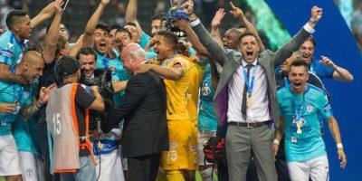¡De película! Pachuca vence a Monterrey y es campeón del Clausura 2016 Foto:Mexsport