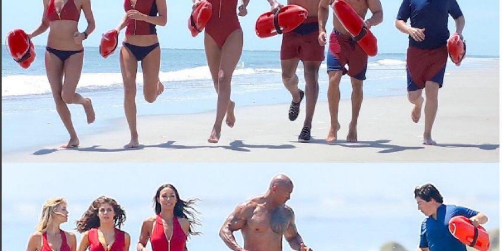 Zac Efron y Belinda participan en la cinta Baywatch Foto:Instagram
