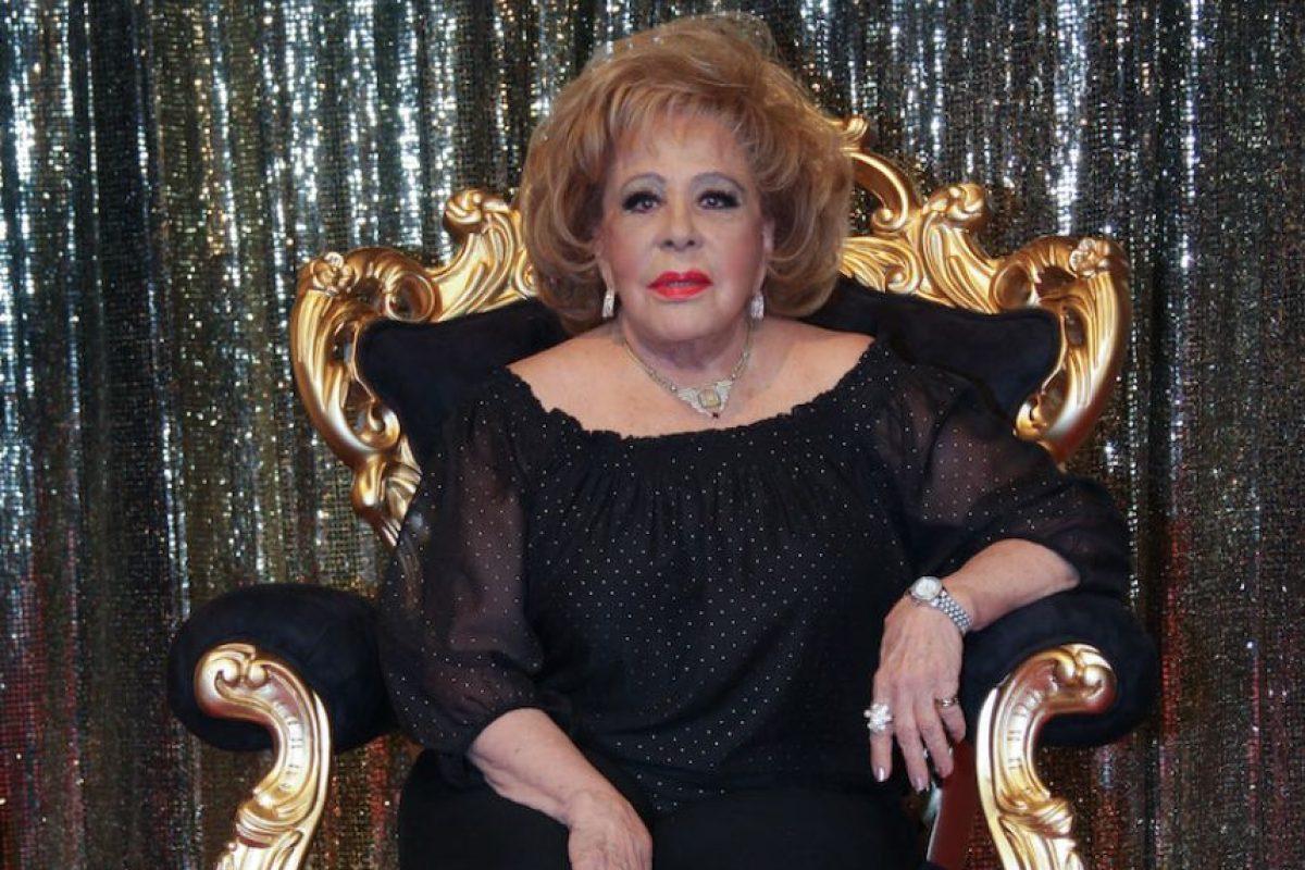 Silvia Pinal tiene 84 años Foto:Cuartoscuro