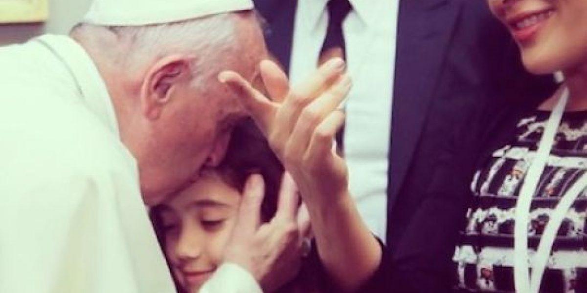 Salma Hayek, George Clooney y Richard Gere en el Vaticano