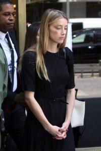 Amber Heard,acusó al actor Foto:Grosby Group