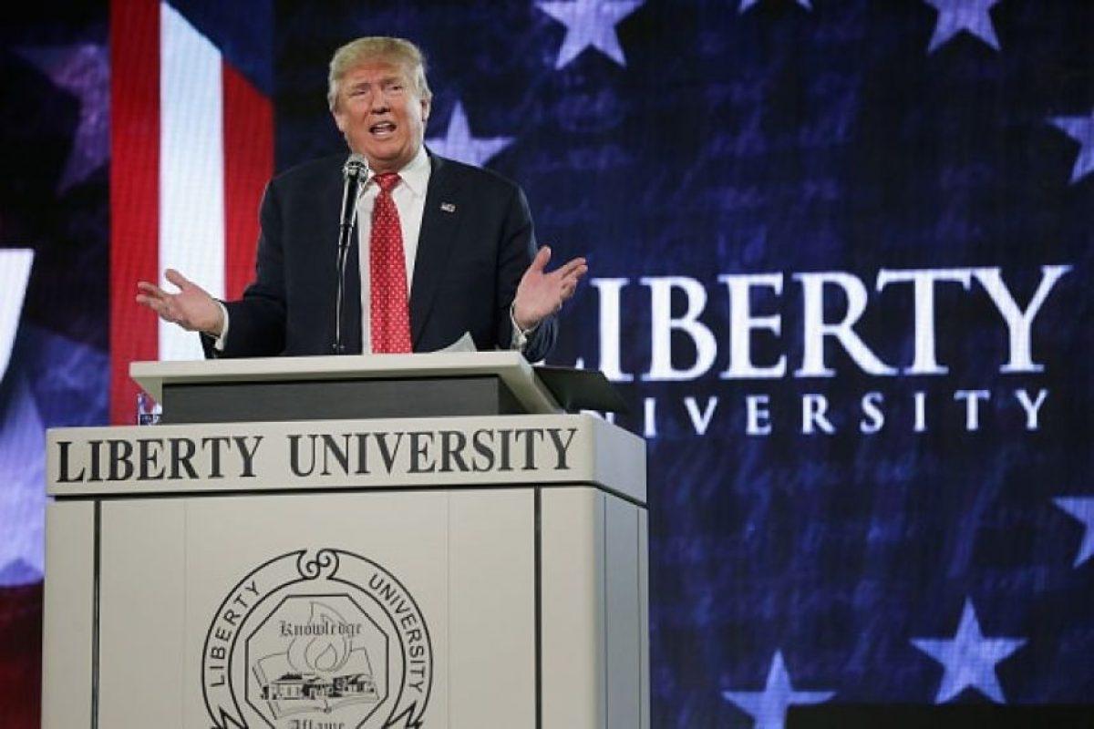 Trump se ha quejado de que países como China o México roban los empleos a estadounidenses, pero sus empresas fabrican productos en esos mismos países. Foto:Getty Images