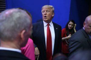 """El """"éxito destilado"""" no fue una buena opción para Trump en 2006 Foto:Getty Images"""