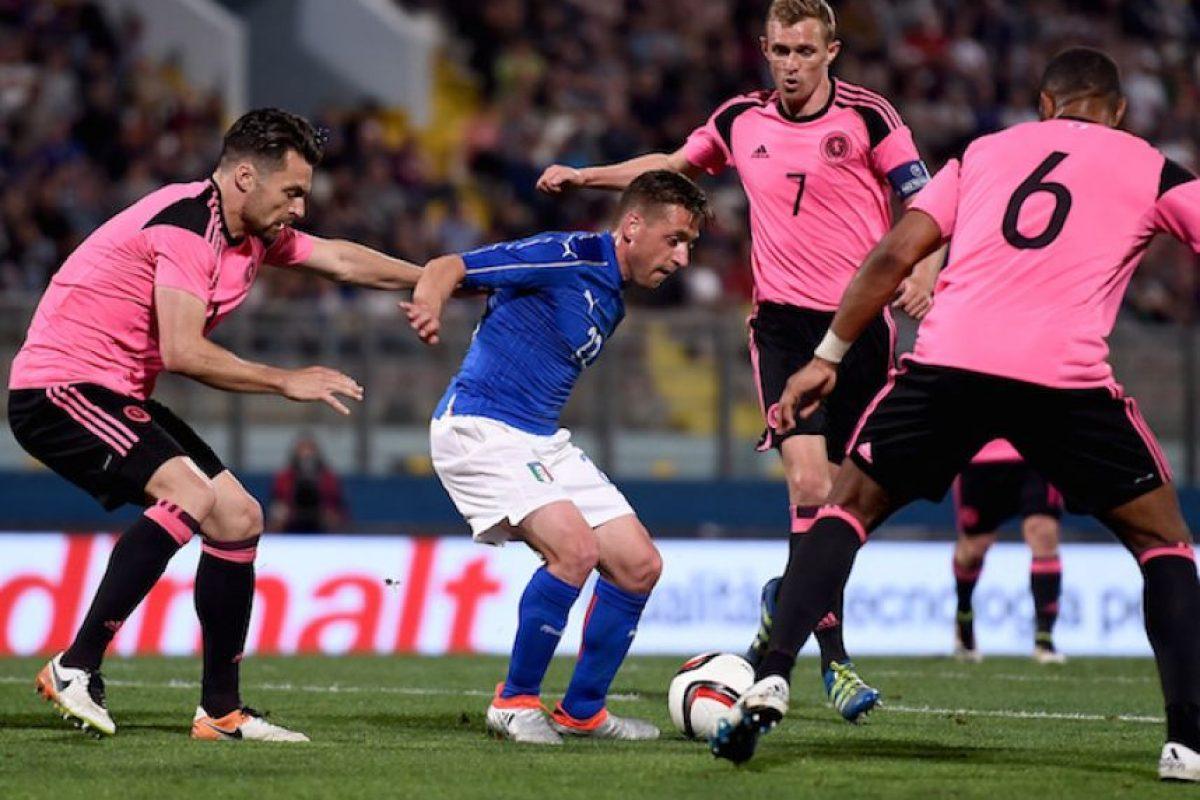 Italia vence a Escocia previo a la Eurocopa Foto:Getty Images