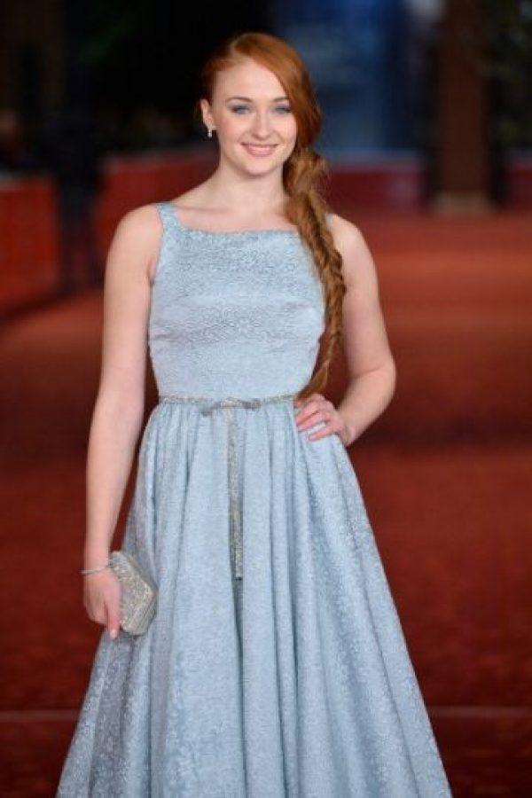 Sophie Turner a los 15 años cuando audicionó para el personaje de Sansa Stark Foto:Gettyimages