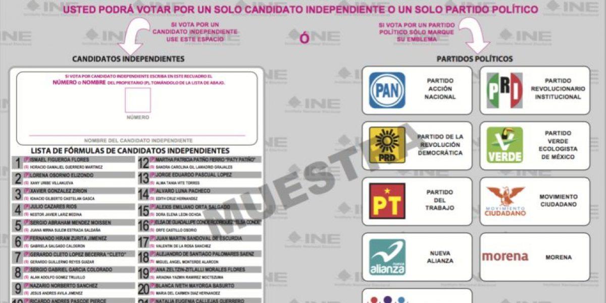 ¿Cómo votar por los candidatos a la Asamblea Constituyente?