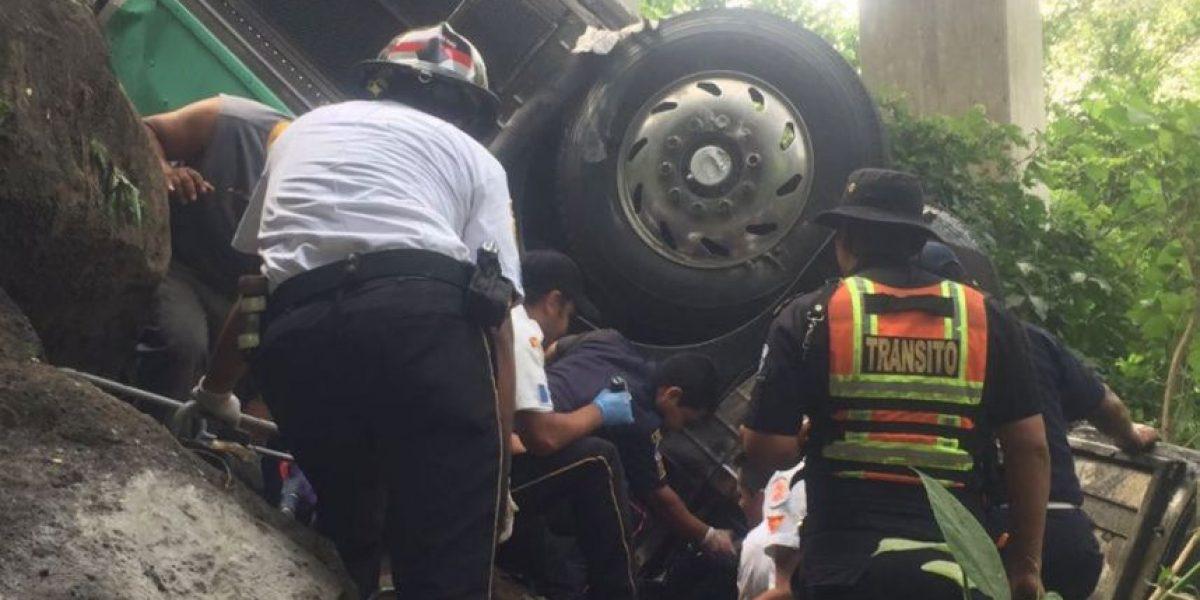 Chofer en Guatemala pidió despedirse de su familia antes de morir