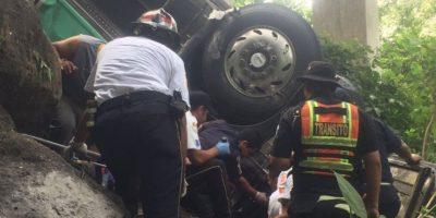 Manolo Osmani Elvira Cermeñoel, chofer de un autobús que se dirigía a El Salvador falleció tras un accidente. Foto:Grupo Emisoras Unidas