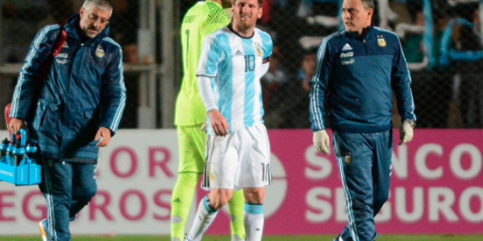 Argentina se quedaría fuera de la Copa América Centenario Foto:Getty Images