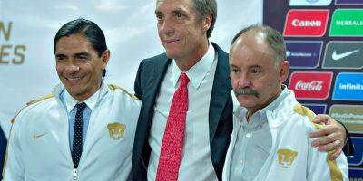 Presentaron a Francisco Palencia como DT de Pumas de la UNAM Foto:Mexsport
