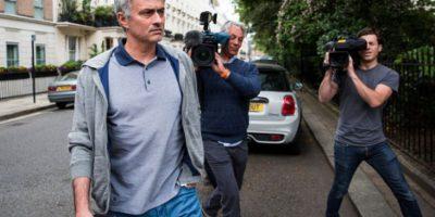 José Mourinho arma primera polémica con Guardiola en la Liga Premier Foto:Getty Images