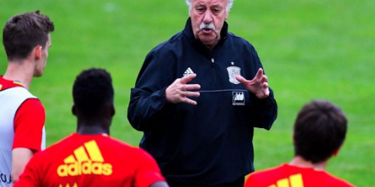 Vicente del Bosque da la lista de España para la Eurocopa