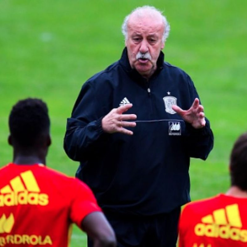 Vicente del bosque da lista final de España para la Eurocopa Foto: Getty Images