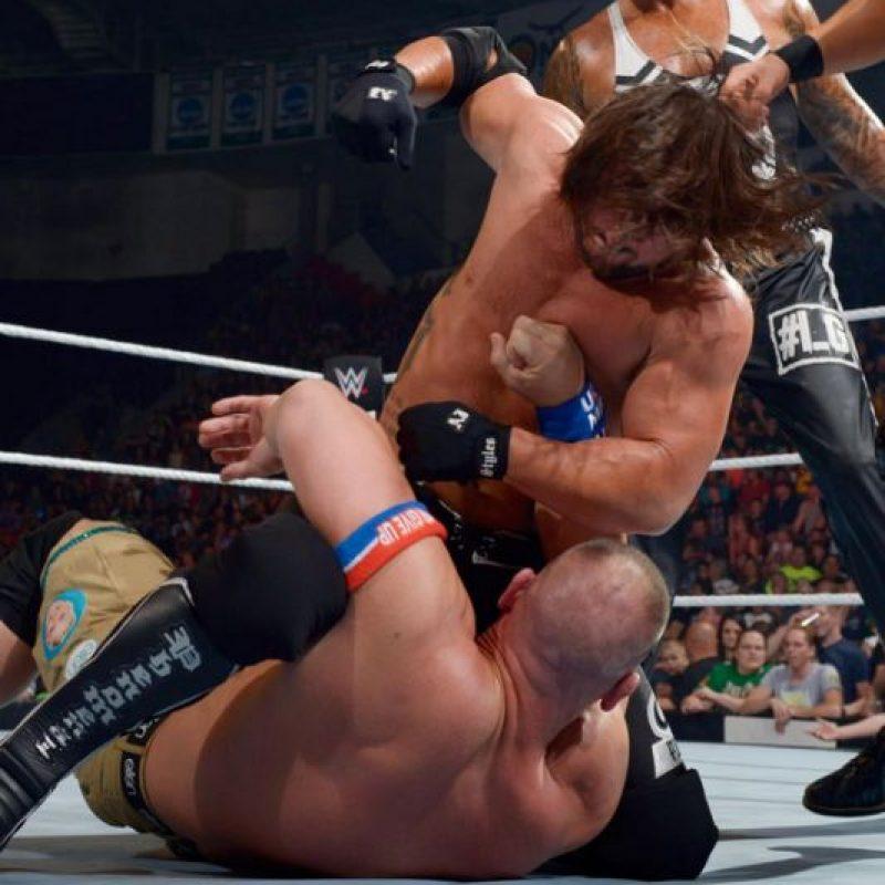 Así fue el regreso de John Cena a WWE Foto:WWE