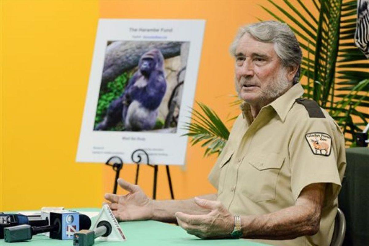 Las autoridades del zoológico dicen haber tomado la decisión correcta Foto:AP