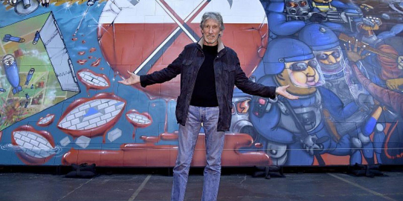 """En la celebración del lanzamiento de la edición limitada del film """"Roger Waters The Wall"""" Foto:Gettyimages"""