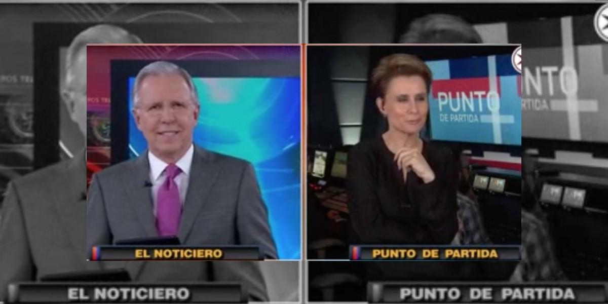 López-Dóriga llena de halagos a Denise Maerker en El Noticiero