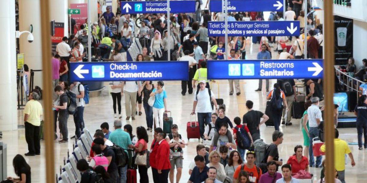 Aeropuertos de Quintana Roo captan a mayoría de turistas extranjeros