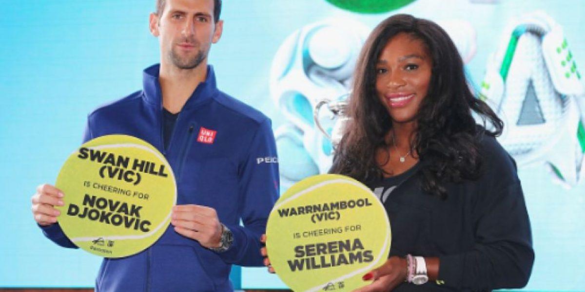 Djokovic y Serena siguen dominando en Roland Garros