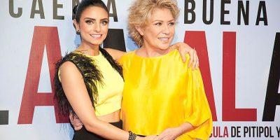Gaby Michel ha acompañado a su hija a los momentos más importantes