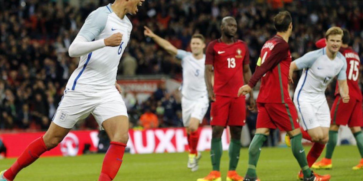 Inglaterra apenas pudo con Portugal, sin Cristiano Ronaldo