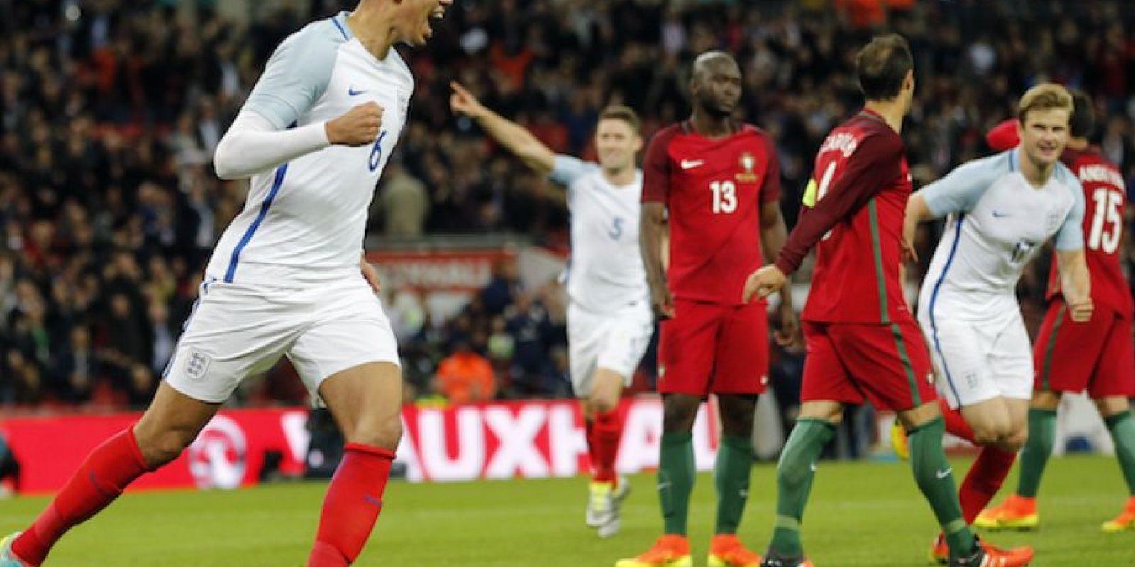 Inglaterra se impuso a Portugal en amistoso Foto:Getty Images