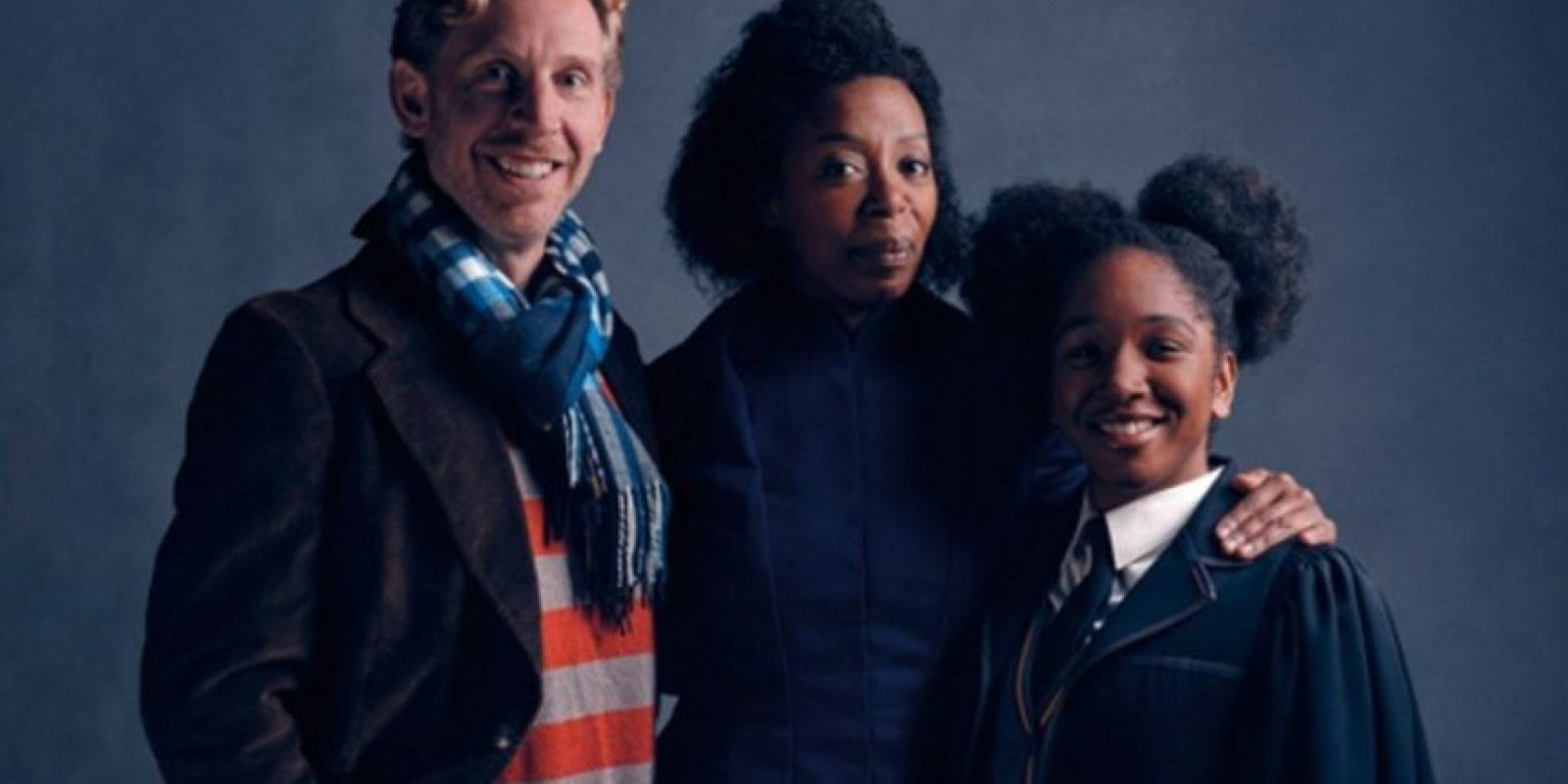 Ron, Hermione e hija Foto:Twitter